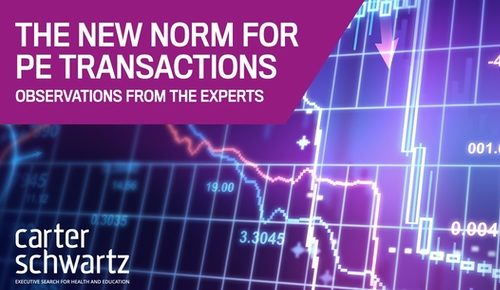 New norm for PE transactions